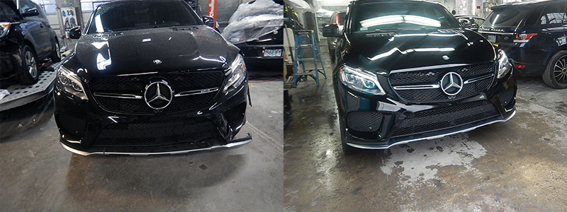 Vehicle's Before and After